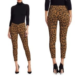 NWT L'Agence Margot High Rise Skinny Spotted